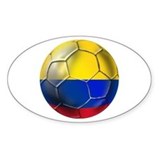 Colombian Soccer Futbol Decal