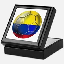 Colombian Soccer Futbol Keepsake Box