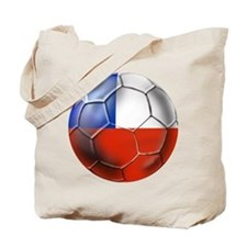 Chile Soccer Futbol Tote Bag