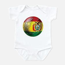 Bolivia Futbol Infant Bodysuit