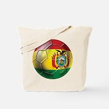 Bolivia Futbol Tote Bag