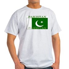 Pakistan Pakistani Flag Ash Grey T-Shirt