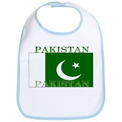 Pakistan Pakistani Flag Bib