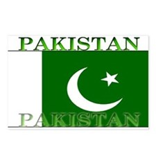Pakistan Pakistani Flag Postcards (Package of 8)