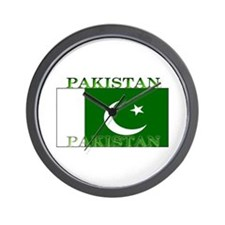 Pakistan Pakistani Flag Wall Clock