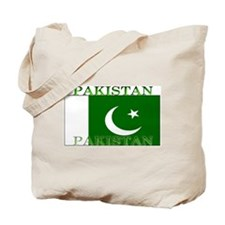 Pakistan Pakistani Flag Tote Bag