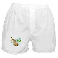 Mallard Ducks Boxer Shorts