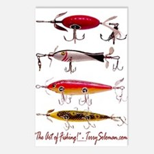 Fish, Fishing, Lure Postcards (Package of 8)