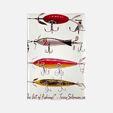 Fish, Fishing, Lure Rectangle Magnet