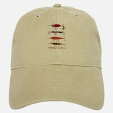 Fish, Fishing, Lure Baseball Baseball Cap