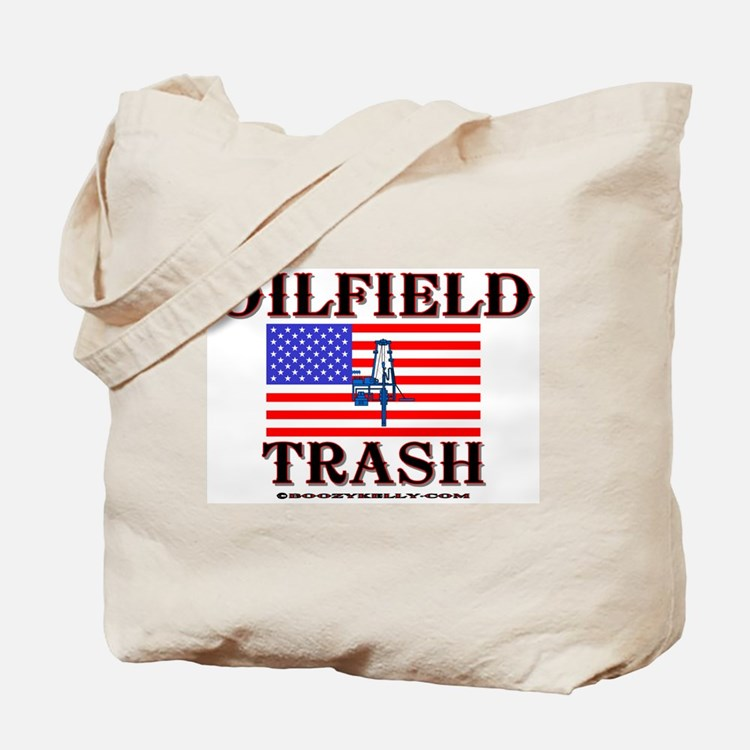 American Oilfield Trash Tote Bag