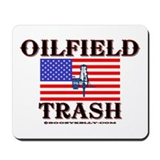 American Oilfield Trash Mousepad