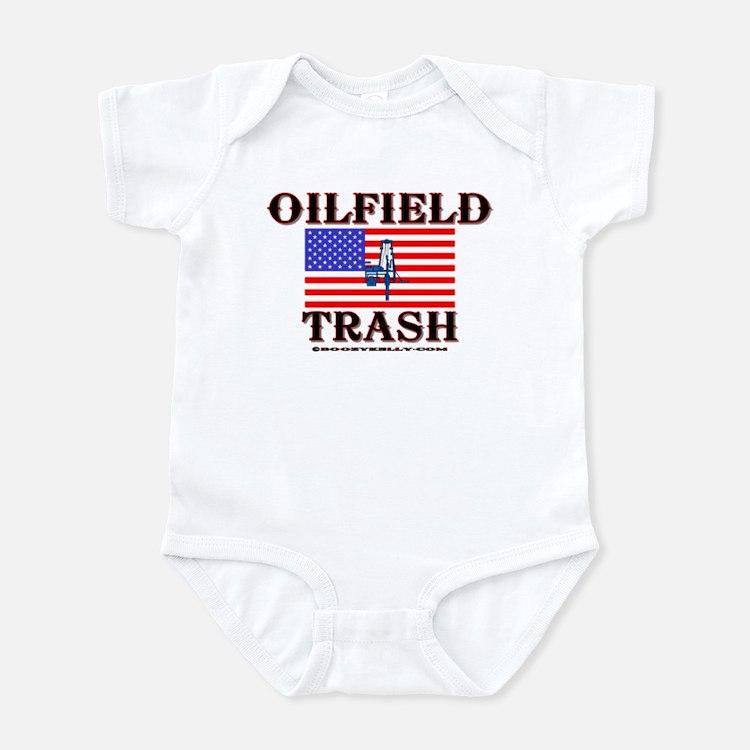 American Oilfield Trash Infant Bodysuit