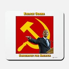 Dangerous Obama Mousepad