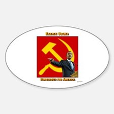 Dangerous Obama Oval Decal