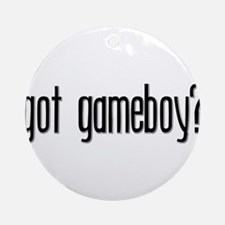 Got Gameboy? Keepsake (Round)