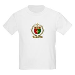 BOURG Family Crest Kids T-Shirt