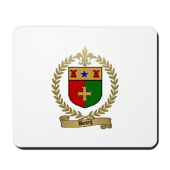 BOURG Family Crest Mousepad