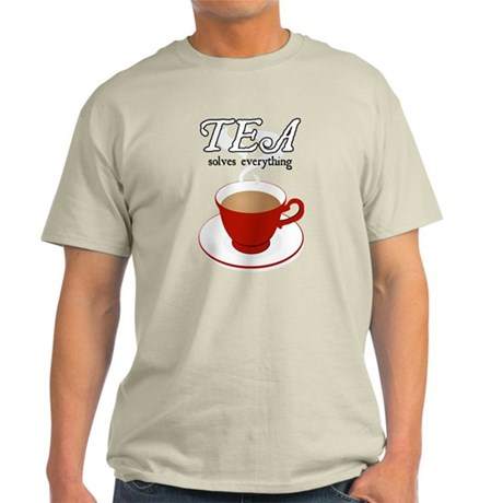 Tea Solves Everything Light T-Shirt
