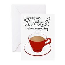 Tea Solves Everything Greeting Cards (Pk of 10)