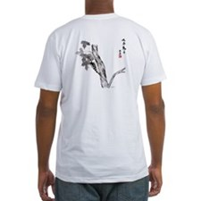 Asian ink painting & calligraphy Shirt