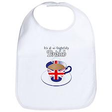 All Frightfully British Bib