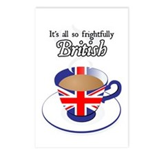 All Frightfully British Postcards (Package of 8)