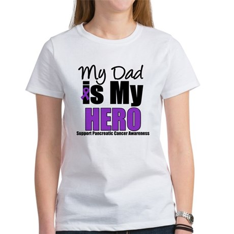 Purple Ribbon Hero Women's T-Shirt
