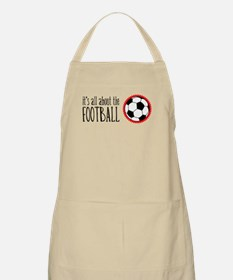 It's All About Football BBQ Apron