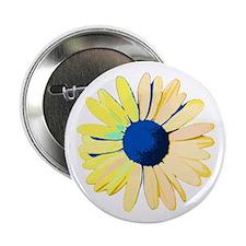 """Yellow Daisy 2.25"""" Button"""