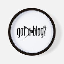 Got a Blog? Wall Clock