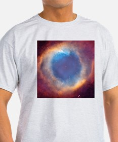 Eye of God Nebula Ash Grey T-Shirt