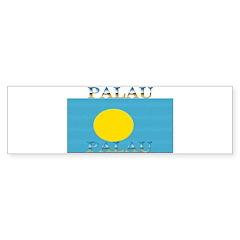Palau Bumper Bumper Sticker