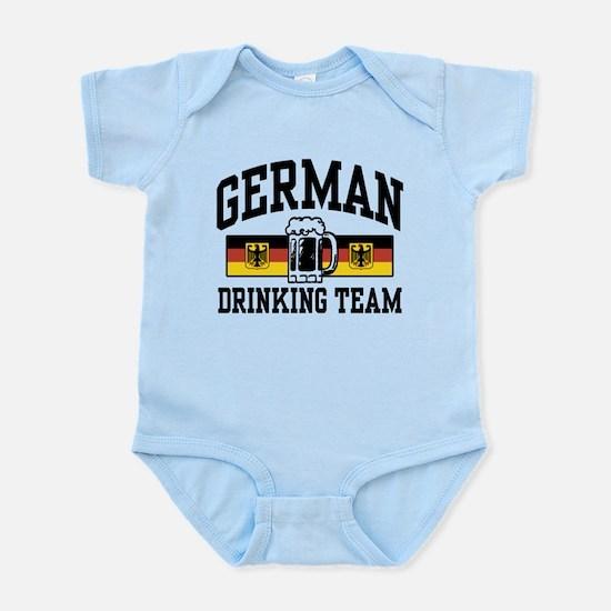 German Drinking Team Infant Bodysuit