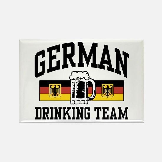 German Drinking Team Rectangle Magnet
