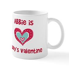 Abbie Is Daddy's Valentine Mug