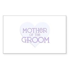 Mother of the Groom Rectangle Decal