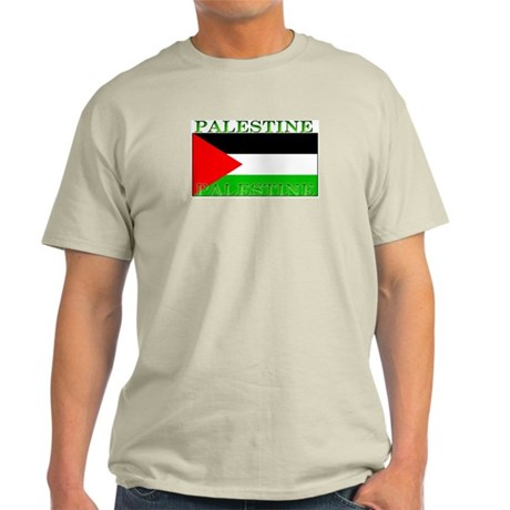 Palestine Palestinian Flag Ash Grey T-Shirt