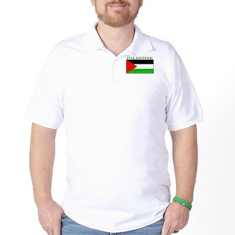 Palestine Palestinian Flag Golf Shirt