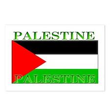 Palestine Palestinian Flag Postcards (Package of 8
