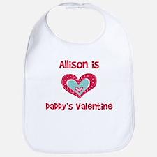Allison Is Daddy's Valentine Bib