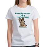 Proudly Owned (Dog) Women's T-Shirt
