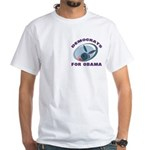 Democrat Donkey White T-Shirt
