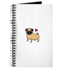 Fawn Pug Love Journal
