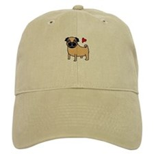 Fawn Pug Love Baseball Cap