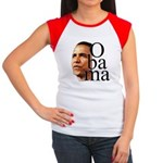 Obama ! Women's Cap Sleeve T-Shirt