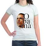 Obama ! Jr. Ringer T-Shirt