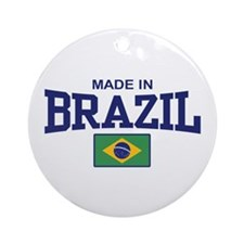 Made in Brazil Ornament (Round)