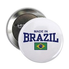 """Made in Brazil 2.25"""" Button"""