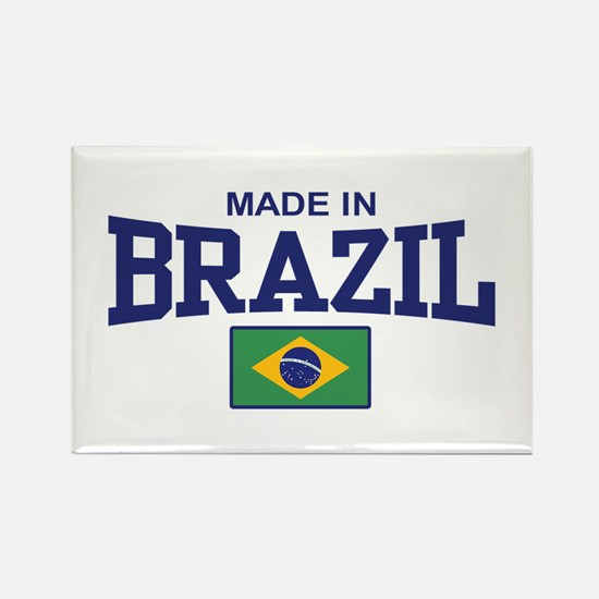Made in Brazil Rectangle Magnet